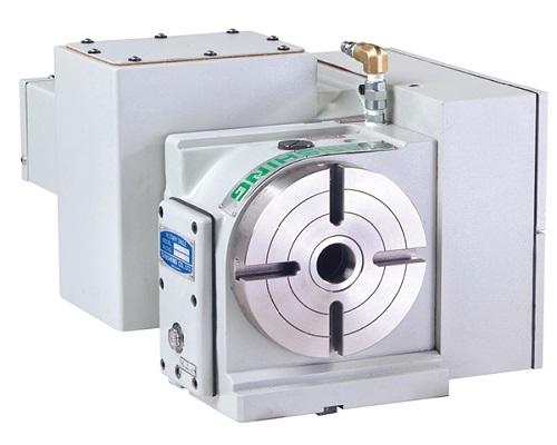 昆山背后式CNC电脑数控分度盘